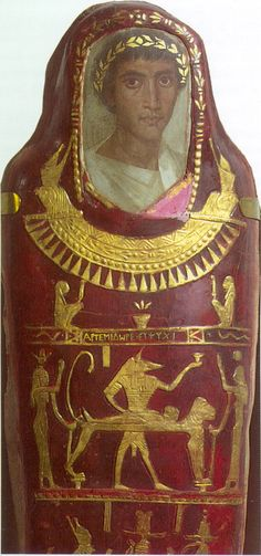 Ancient Egypt - later Roman style mummy