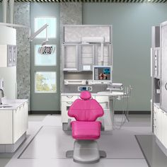 A-dec Inspire dental furniture with the A-dec 500 dental chair. Design your dream operatory and order color samples at a-dec-inspire-me.com.