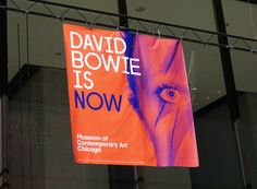3d8b615e5e0 David Bowie MCA Chicago Banner. Cushing is a leading print and digital  communications firm based