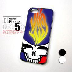 Grateful Dead Lightning Fire design for iPhone 5 Case
