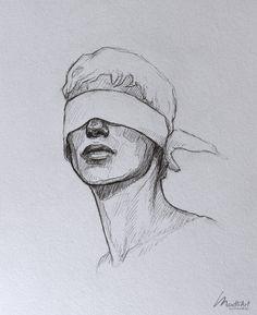 Meine Skizzenbuchkunst I Dreamy Blindfolded Drawing Guy I Cute Sketch I Sketchy Art . Meine Skizzenbuchkunst I Dreamy Blindfolded Drawing Guy I Cute Sketch I Sketchy Art . Cool Art Drawings, Pencil Art Drawings, Art Drawings Sketches, Portrait Sketches, Drawing Portraits, Face Drawings, Pencil Sketching, Unique Drawings, Art Drawings Beautiful