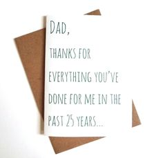Fathers Day card-  Funny