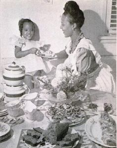 Dorothy Dandridge and daughter Harolyn.  Her only child, Harolyn Suzanne Nicholas, born on September 2, 1943 was born brain-damaged.  Dorothy & Harold Nicholas divorced in October 1951.