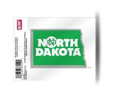 North Dakota Fighting Hawks Static Cling Sticker NEW!! Window or Car! NCAA