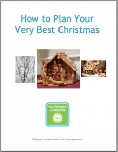 How to plan your very best Christmas. Mind organization for the holidays