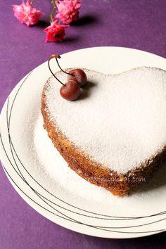 Easy, delicious Eggless Mango Cake Recipe!