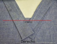This post was discovered by Hi Sewing Basics, Sewing Hacks, Sewing Tutorials, Sewing Projects, Burda Sewing Patterns, Clothing Patterns, Techniques Couture, Sewing Techniques, Man Dress Design