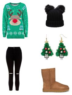 Bez tytułu #62 by wiki208 on Polyvore featuring moda, New Look and UGG