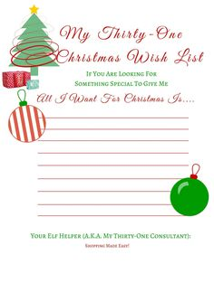 Thirty-One Wish List www.mythirtyone.com/kalbers