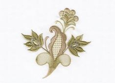 VINTAGE CHIC | OregonPatchWorks Custom Embroidery, Embroidery Thread, Machine Embroidery Designs, Free Design, Brooch, Chic, Vintage, Scrappy Quilts, Bricolage