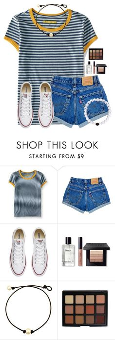 """""""Only a couple more months until summer vacation"""" by victoriaann34 on Polyvore featuring Aéropostale, Converse, Bobbi Brown Cosmetics and Morphe"""