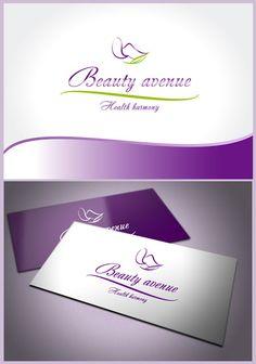Лого дизайн и визитни картички за салон за здраве и красота Beauty avenue - Weld1 конкурсен проект / Logo design and business cards for health and beauty center Beauty avenue - Weld1 contest project