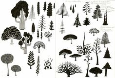 50 other ways to draw trees