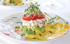 Try this Crab, Tomato, and Avocado Towers recipe from Southern Lady Magazine.