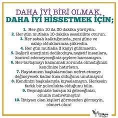 Daha iyi biri olmak, daha iyi hissetmek için... Positive Psychology, Positive Life, Growth Mindset, Best Self, Learn English, Self Improvement, Inspire Me, Personal Development, Self Love
