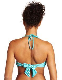 $19 Roxy Juniors Twist Bandeau Top, Blue, LargeFrom Roxy $19
