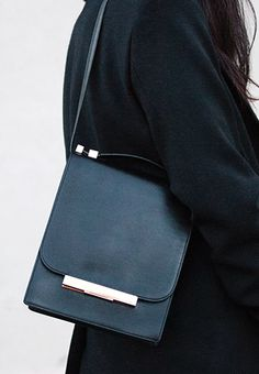 Perfect Little Black Bag By The Row