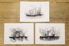 Ink forests by InkingArt on DeviantArt