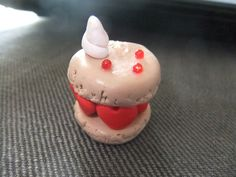 Macaron de l'amour en fimo Macaron in polymere clay