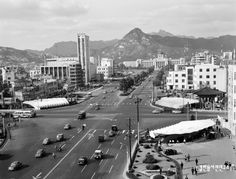 Fire Heart, Old Pictures, South Korea, Seoul, 1970s, Past, History, City, Places