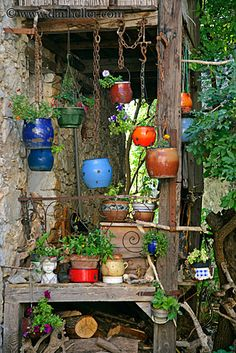 *Hanging Pottery