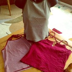 three Abercrombie summer tops excellent condition -two left are (M) right is (S) Abercrombie & Fitch Tops