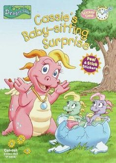 (a Sticker Time book) Berry, Dragon Tales, Gummy Bears, Babysitting, Cassie, Princess Peach, Childhood, Bob, Random House
