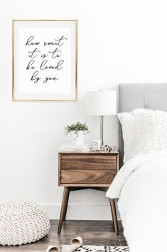 Lets Stay In Bed Bedroom Decor Newlywed Gift Master Bedroom Decor Bedroom Artwork Home Decor Home Decor Bedroom, Decor, Modern Bedroom, Bedroom Design, Master Bedrooms Decor, Interior Design Bedroom, Bedroom Artwork, Room Decor, Home Decor Tips