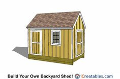 1000 images about 8x12 shed plans on pinterest shed Cape cod shed plans
