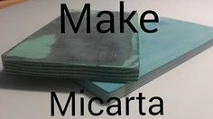 making micarta the easy way - YouTube