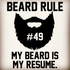 "Beard rule no. 49: ""My beard is my resume."" Weekend is almost there... Embrace it And have fun! #beard #beards #bearded #beardman #fullbeard #men #beardlife #beardgang #friday #beardedman #life #instapic #picoftheday #beardsofinstagram #pic #picture #fun #quote #fitfamdk #fitness #bodybuilding #cycling #crossfit #fitfam #boxing #running #mma #beardgrowth #beardrules #amazing by the_beard_journey"