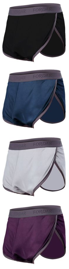 Arrow Pants Casual Loose Sports Boxers Shorts Mid Waist U Convex Boxer Briefs for Men