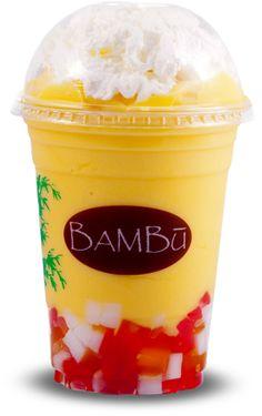 BAMBU Desserts & Drinks. Milk teas, dessert drinks, smoothies, variety of different flavored jellies. Eden Center, Falls Church.