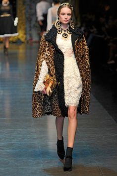 Fashion Show: Дольче и Габбана Осень-Зима 2012/13 - Dolce & Gabbana Fall 2012 RTW