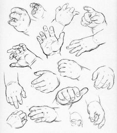 come si disegnano le mani secondo Andrew Loomis Drawing Body Proportions, Feet Drawing, Human Body Drawing, Human Figure Drawing, Drawing Practice, Drawing Skills, Human Figure Sketches, Figure Sketching, Baby Feet Art