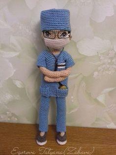 Image gallery – Page 371687775490079270 – Artofit Crochet Dolls Free Patterns, Crochet Stitches Patterns, Crochet Doll Pattern, Amigurumi Patterns, Knitted Nurse Doll Pattern, Crochet Dollies, Crochet Toys, Crochet Baby, Yarn Dolls