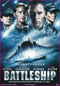 battleship movie - I don't know why this received bad reviews?  Massive machines, Big guns, and Liam Neeson.  It's like Transformers on steroids!