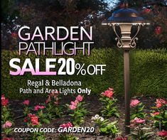 Now through Sunday March 8th! ⁠ SAVE 20% ON SELECT GARDEN PATH LIGHTS ⁠ Use coupon code GARDEN20  ⁠ #lighting #landscapedesign #homedecor #lightingdesign #outdoorliving #ledlighting #outdoorlighting #lightingideas Garden Path Lighting, Outdoor Lighting, Outdoor Decor, Path Lights, Cool Landscapes, Pathways, Garden Paths, Lighting Design