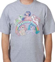 Officially Licensed My Little Pony Shirt Group T-Shirt