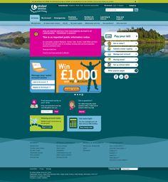 United Utilities website frontpage http://www.unitedutilities.com/ the day the water contamination problem in the North West of England hit the news. 8.8.2015