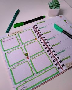 Tamaravilhosamente - Estilo de vida e Lettering Bullet Journal, Planner, Bujo, Notebook, Diy, Daily Planning, Notebook Ideas, Lifestyle, It Works