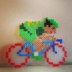 Cycling perler beads by ron_altitudejunkie