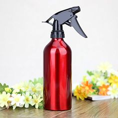 Hairdressing Water Spray Bottle for Salon Home or Flower Planting Water Spray, Fire Extinguisher, Spray Bottle, Hairdresser, Cleaning Supplies, Planting Flowers, Salons, Plants, Red