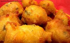 Bacon, Butter, Cheese & Garlic: Jalapeno Cheese Hush Puppies