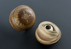 This model of the eye is made from horn, ivory, wood and glass. The glass is used to show the eyeball, although no iris is present. The model can also be dismantled to show the optic nerve at the back of the eye. Anatomical models were important teaching aids, especially because of the shortage of bodies available for dissection. They could also be used to highlight specific parts of the body, often by making them larger than life-size.