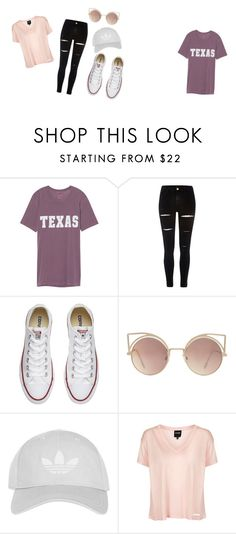 """Untitled #1"" by raneilyayoung on Polyvore featuring River Island, Converse, MANGO and Topshop"