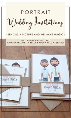The Portrait Wedding Invitations are totally personalized is now real! We can personalize everything, starting with the hair, accessories, mouth, color skin, bouquet, dress, earrings, and so on. Send us a picture and we will create a similar design for you. Know more. Rustic Wedding Stationery, Laser Cut Wedding Invitations, Watercolor Wedding Invitations, Custom Invitations, Invites, Cream Wedding, Ceremony Decorations, Engagement Couple, Bouquet