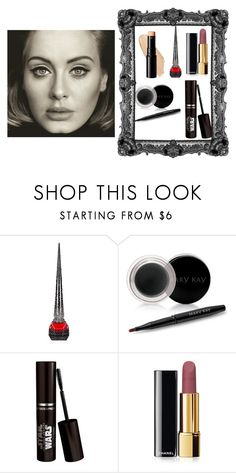 """Adele Hello"" by irmabecic ❤ liked on Polyvore featuring beauty, Christian Louboutin, Mary Kay, Chanel, black, adele, makeup, hello and polyvorecommunity"