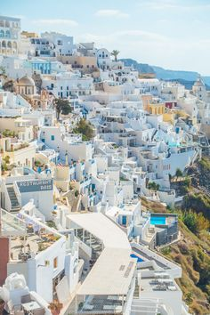 Besides walking around and taking pictures, eating, shopping, and relaxing on a balcony with the most amazing view in the world, here are some of the other fun things we did in Santorini — plus our favorite places to eat!! :)   Day trip to Fira On one of the days we were in Santorini, we …