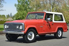 This 1972 Jeep Commando is a nice driver in fundamentally stock condition. Its AMC inline six is mated to a manual and has received new gaskets, hoses and fluids. A clean Oregon title is included in the sale. Jeepster Commando, Military Jeep, Old Jeep, American Motors, Jeep Truck, Classic Cars Online, Dream Garage, Buick, 4x4